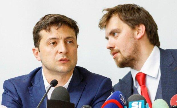 Украина, гончарук, зеленский
