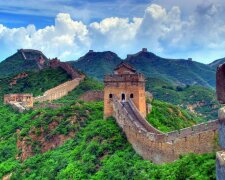китайская стена,