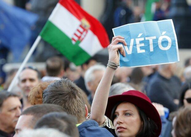 Венгрия, протесты