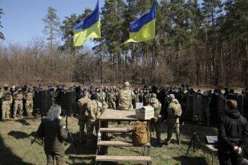 Під Києвом проходить відкритий військовий вишкіл: Білецький розкрив подробиці