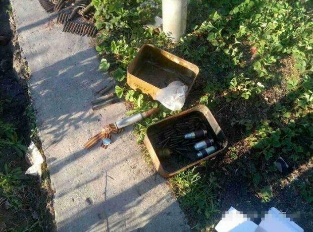 Житель Луганщины пытался утаить гранаты и арсенал оружия (фото)