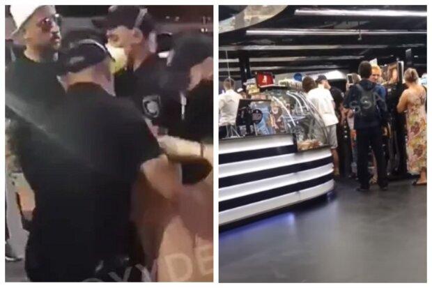 """""""Что вы делаете?"""": в Одессе устроили драку с полицией из-за маски, видео"""