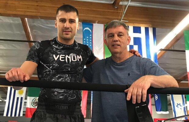 Александр Гвоздик, тренер Гвоздика, Тедди Атлас