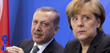 Меркель Эрдоган фото