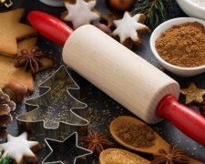 рождество, сладости, печенье