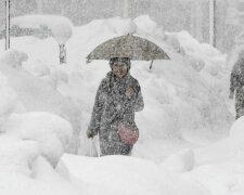 снег, снегопад, зима, метель