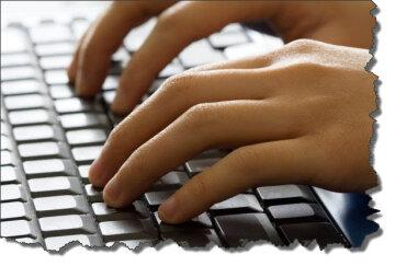 писать, компьютер