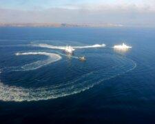 азовское море, керченская протока россия