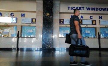 Каси, вокзал, Україна