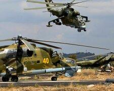 Сирия вертолет РФ