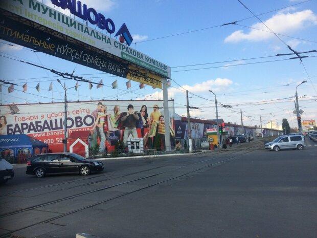 """На """"Барабашово"""" грабіжники влаштували облаву на авто харків'ян: відео злили в мережу"""