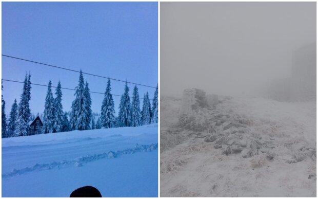 Україну засипало снігом, різкі заморозки застали зненацька: кадри негоди