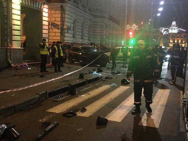 Второй участник ДТП в Харькове рассказал, как произошла авария на самом деле