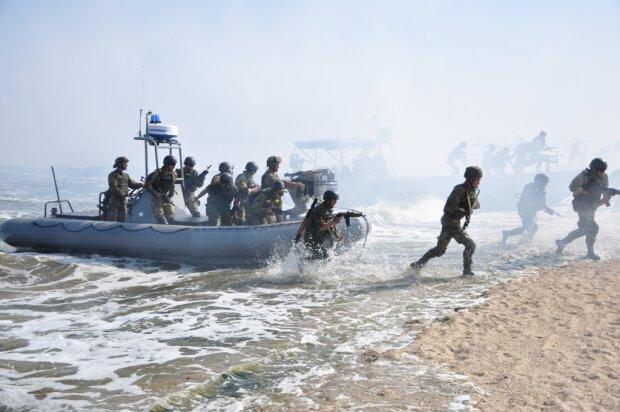Морские военные учения Николаевская область