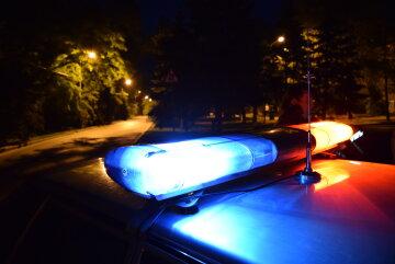 полиция, мигалки