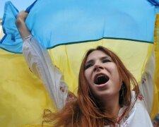 украина украинка украинцы флаг