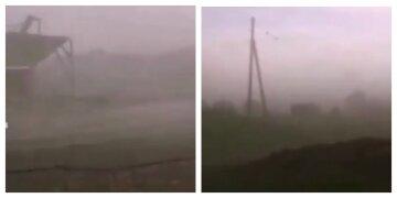 Потужний ураган виривав дерева з коренем і руйнував будівлі: з'явилися кадри гніву природи в РФ