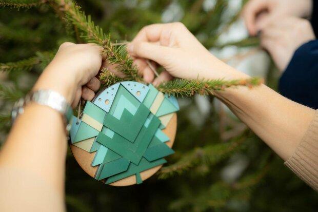 Фото новорічної ялинки у Харкові сколихнуло мережу: до такого можуть додуматися не багато