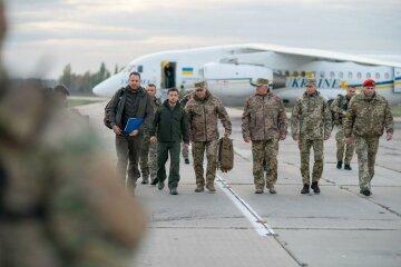 Порушили закон: у штабі ООС прокоментували візит Зеленського на Донбас