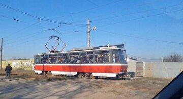 В Харькове с камнями бросаются на переполненные трамваи: видео беспредела
