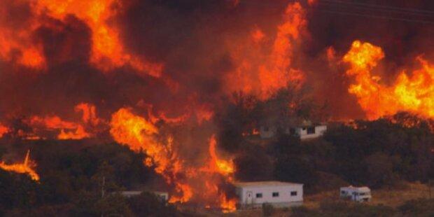 Американець влаштував масштабну пожежу через книги – відео