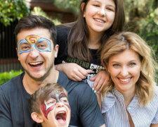 зеленский семья