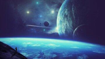 галактика, космос, земля в будущем, будущее