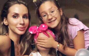 Світлана Лобода з дочками