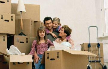 переезд, семья. новый дом