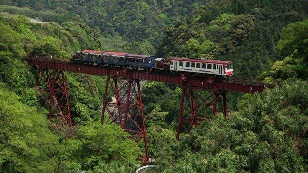 Вражаючі кадри найстрашніших залізниць у світі (фото)