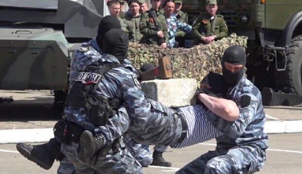 """Окупанти повідомленнями заманюють до своїх лав місцевих жителів: """"В ОМОНі """"ЛНР"""" все погано?"""""""