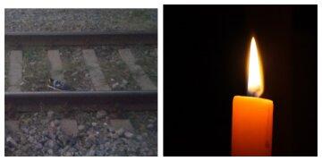 На Харьковщине 15-летний велосипедист попал под поезд: фото с места трагедии