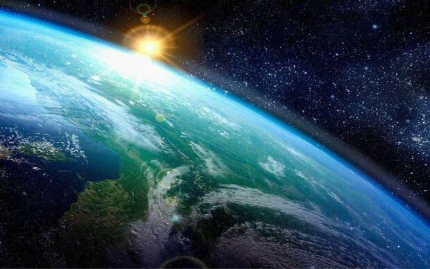 земля, космос,