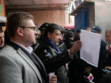СМИ сообщили о захвате городского рынка в Ивано-Франковске и бездействии полиции