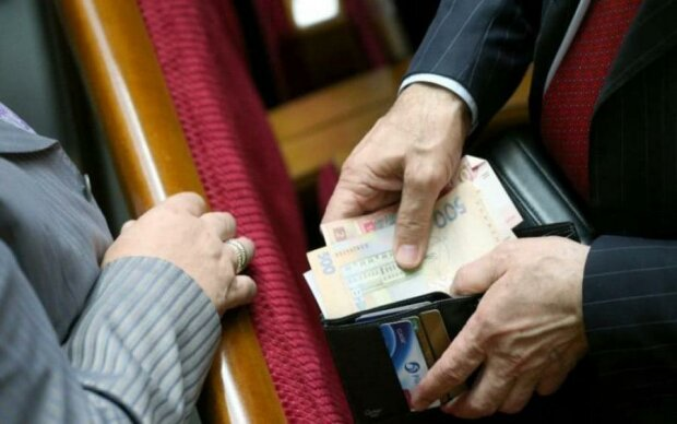 кошелек, деньги, депутат