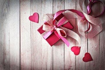 подарок, день святого валентина