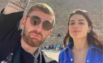 Андрій Рибак з дівчиною