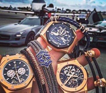 роскошь, богатство, часы