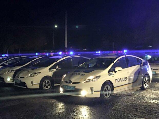 машины, авто, полиция