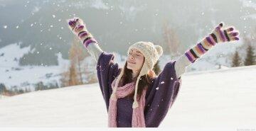 счастье, радость, зима
