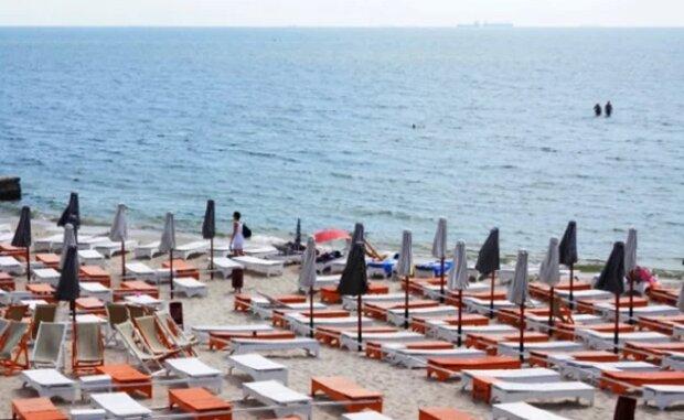 пляж, море, Одесса
