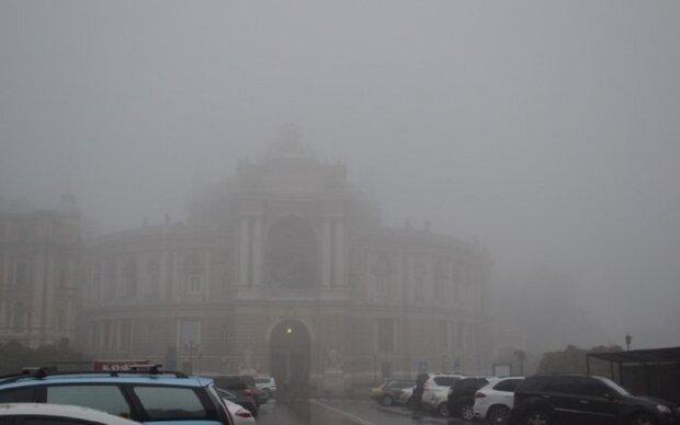 Одесса, туман