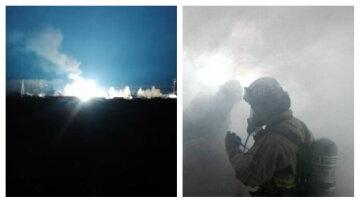 """Потужний вибух прогримів під Києвом, все у вогні: """"Місто виявилося..."""""""