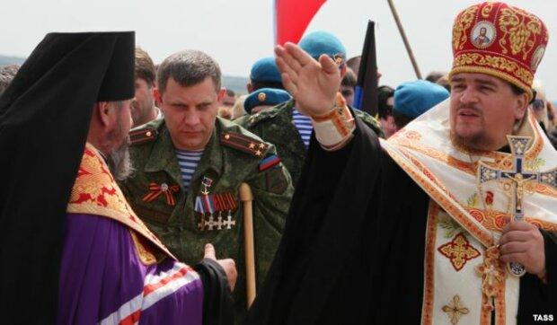 днр захарченко священики упц мп московский патриархат