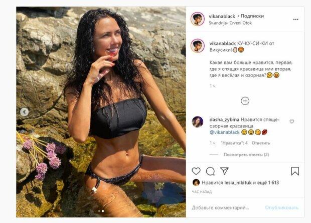 """Жгучая солистка """"НеАнгелов"""" в мокром бикини показала себе с разных сторон: """"Красиво, черт возьми!"""""""