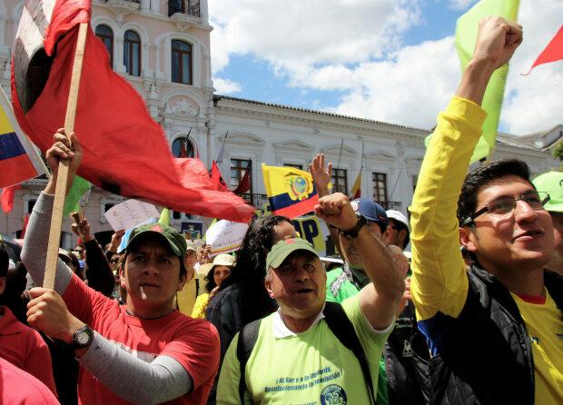 Эквадор протест