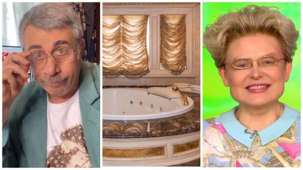 «Комаровскому грустно»: в сеть утекли фото золотого дворца теледоктора Малышевой