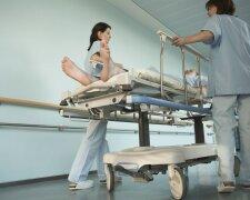 больница носилки больной