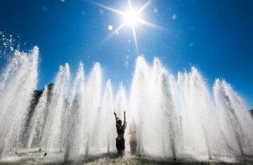 спека, фонтан