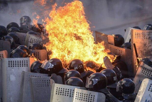 Майдан, Беркут